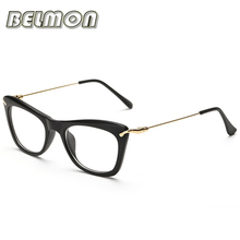 Eyeglasses Frame Women Computer Optical Eye Glasses Spectacle Frame For Women's Transparent Clear Lens Female Oculos de RS138
