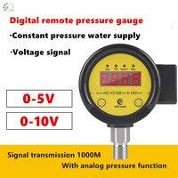 HC YC100 Digital Remote Pressure Gauge Converter Constant Pressure Water Supply Transmitter Remote Control 0 5V 0 10V
