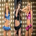 Hot sale women latex lingerie sexy disfraces women club bar party night dress pole dancing lingerie set  3 colors free shipping
