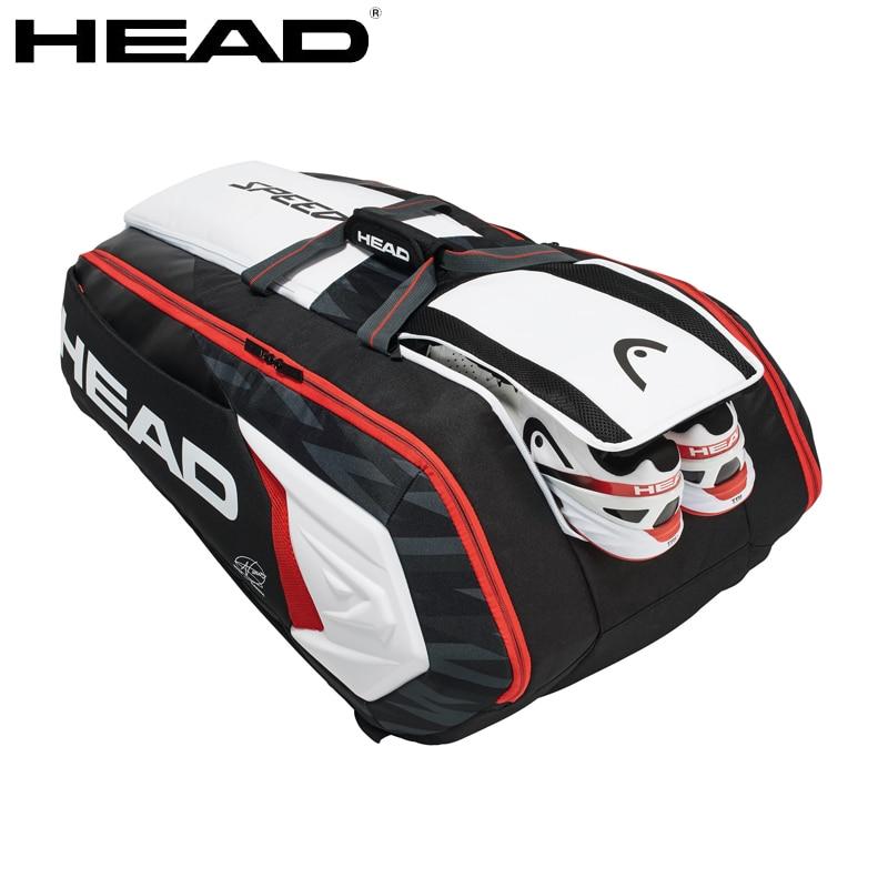Head Tennis Bag >> Us 107 52 10 Off 2019 Head Djokovic Tennis Bag For 6 9 Racketes Sport For Men Backpack Tennis Bags Tennis Backpack In Racquet Sport Bags From Sports