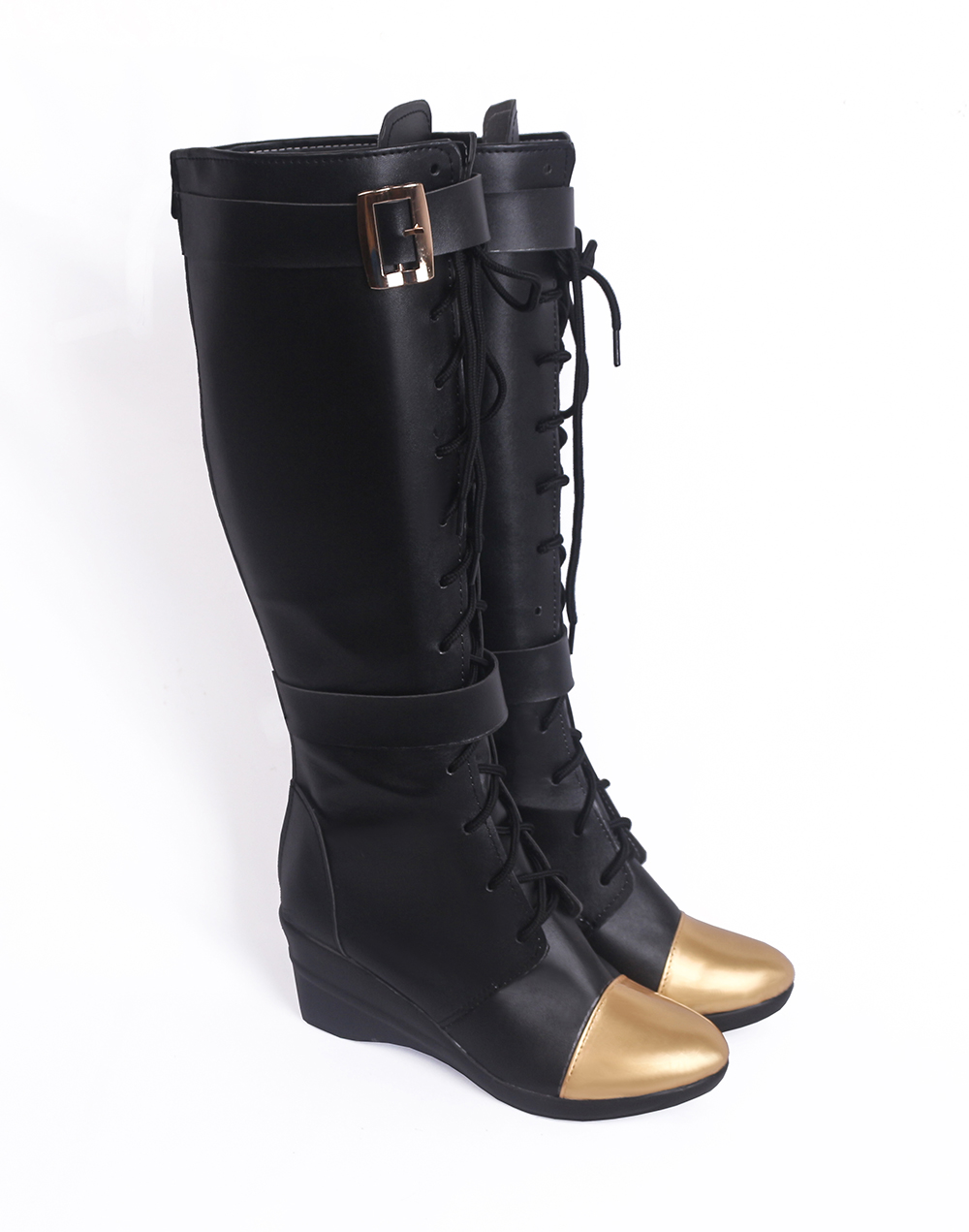 LOL Caitlyn the Sheriff of Piltover Cosplay Boots Shoes (3)