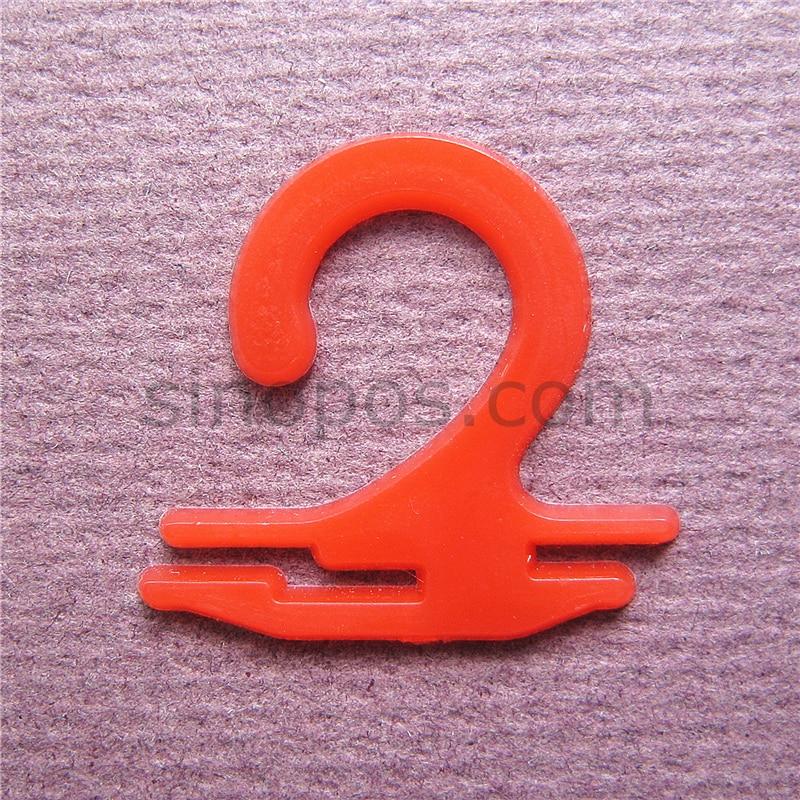 Plastic Sock Hooks Colored, Scarf Underwear Brief Gloves Stocking Display Wire Hanger Socks Packaging Card Header Hook Handles