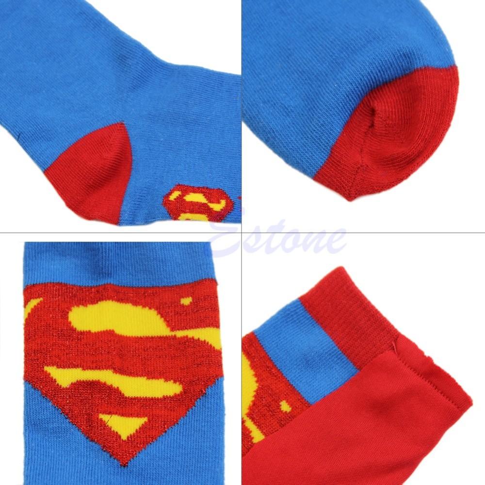 Super Hero Superman, Batman Socks