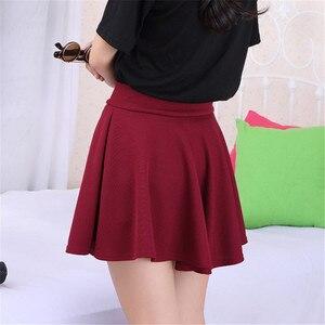 Image 5 - 2020 Tất Cả Đều Phù Hợp Tutu Học Váy Váy Ngắn Cho Nữ Lại An Toàn Mùa Hè Xếp Ly Chân Váy Ngắn Faldas Bầu Mini Hàn Quốc saia Gratis
