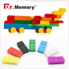 USB Flash drive 64GB Building Block Pendrive Gift Pen Drive Real capacity USB Stick Cartoon Toy Brick Flash Drive USB 2.0(China)