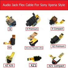 Audio Jack Flex Cable For Sony Xperia X/X Compact/X Performa