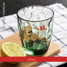 Europe Lead-free Originality glass Water cup Color transparent Household juice cups stemware Drink