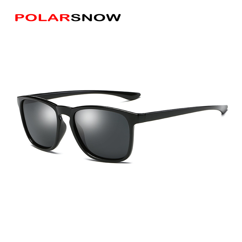 POLARSNOW Fashion Sports Sunglasses For Men Women Polarized Lens 2018 Brand Designer Male UV400 Driving Sun Glasses P0916
