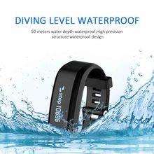 SXR1 Smart Bracelet Wristband Swim Waterproof Watch Fitness Tracker iOS Android Smartband Heart rate Monitor PK xiaomi mi band 2