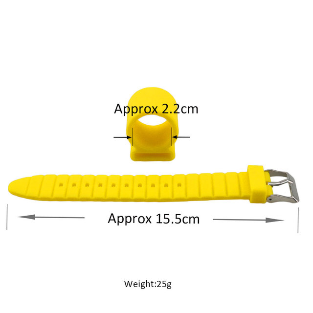 1 X Watch Style Silicone Shisha Hose Holder For Hookah Chicha Narguile Hose Smoking Accessories