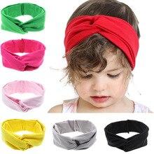 """Повязка на голову для маленькой девочки аксессуары для волос одежда band Луки Головные уборы головной убор повязка на волосы """"тюрбан"""" подарок для новорожденных, детей ясельного возраста, галстуки для новорожденных повязка для волос"""