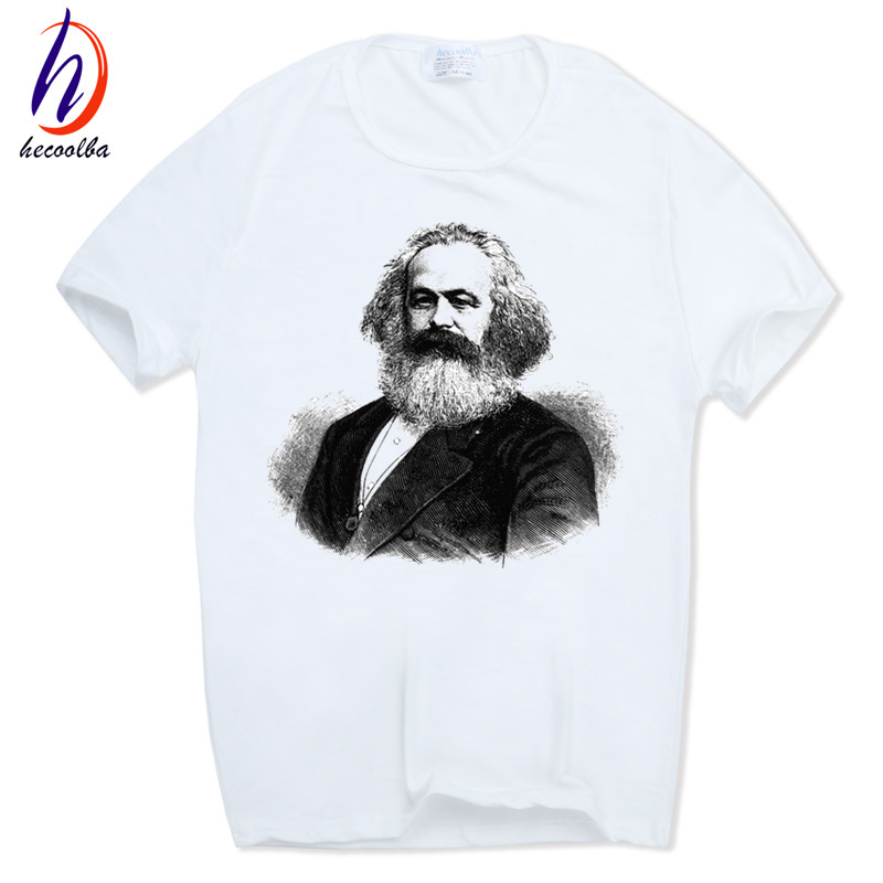 Men Print MARXISM COMMUNISM CCCP T-shirt O-Neck Short sleeves Summer Casual Fashion Karl Marx T Shirt SWAG HCP679