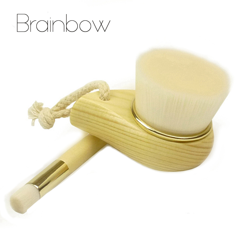 Brainbow 1pc Facial Cleaner Brush Soft Silicone Blackhead Comedone Acne Pimple Extractor Tools Finger Brushes for Face Skin Care 12