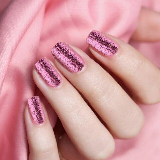 ROSALIND 1 pcs Nail Effet Miroir Poudre de polissage pour ongles art Décoration Chrome Pigment Paillettes or/argent nail poudre 4