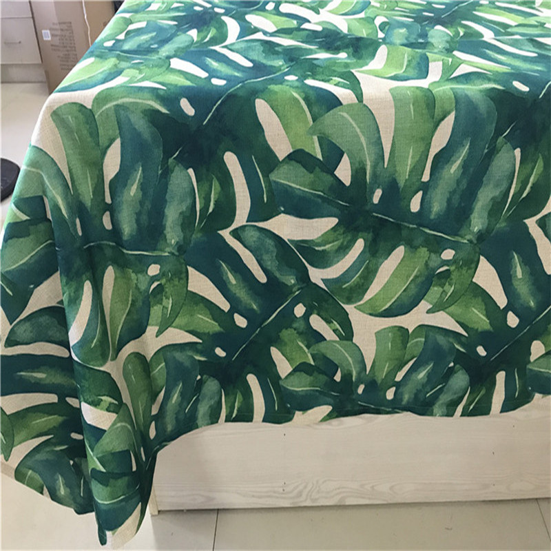 HAOLAIWU3D Photo Print Tropical Plants GreeTablecloth Table Cover Table  Cloth Rectangle Provence Tafelkleed Tablecloths In Tablecloths From Home U0026  Garden On ...