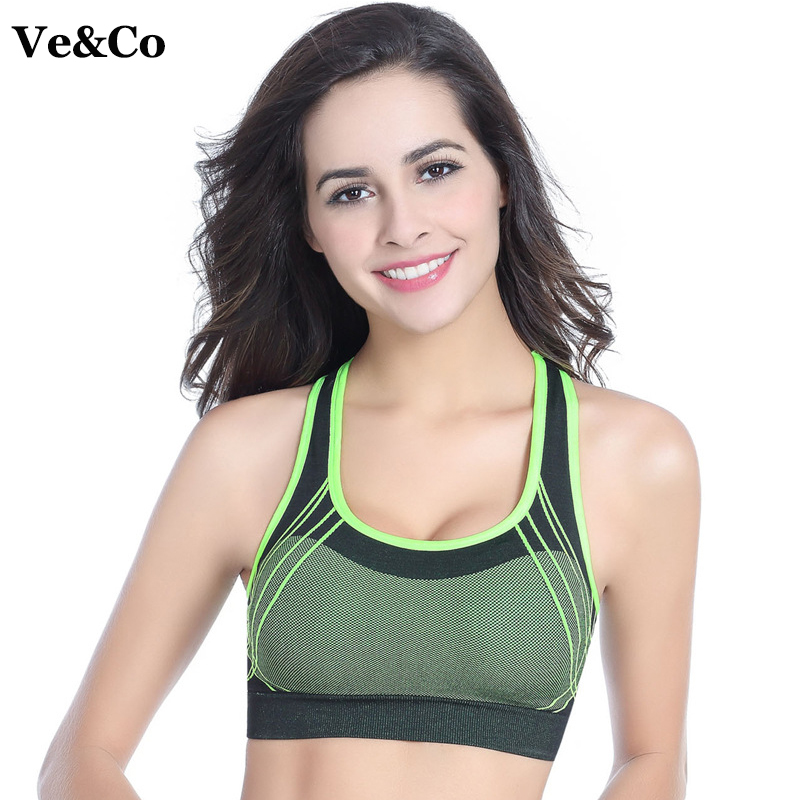 f96287fb4e ... Women Running Yoga Sports Bras 2017 New Gym Bra Quick-drying Push Up  Seamless Fitness Top Bras Shockproof Crop Tops. Sale!   
