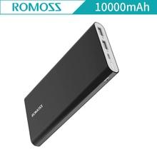 D'origine Romoss RT10 10000 mAh Boîtier de Corps En Aluminium Puissance Banque Ultra Mince Intelligent De Charge pour Apple iphone pour Samsung Galaxy Xiaomi