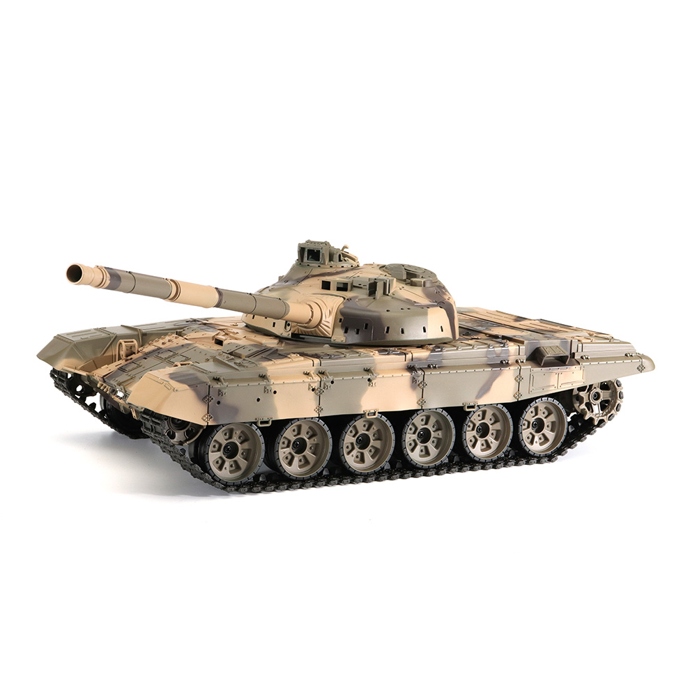 Heng Long 3938-1 1/16 2.4G Russian T-90 Rc Car Battle Tank With Smoking Sound Plastic Version with Transmitter RC Toys Kids Gift knl hobby heng long russian t 90 1 16 scale 2 4ghz r c main battle tank 3938 1 ultimate metal version metal gear tracks somke