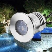 12 V 3 W IP68 luces bajo el agua para piscinas de jardín de luz led piscina piscina luces sumergibles para fuentes de agua flotante