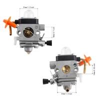 Carb Carburador Para Stihl VADIA FS87 FS90 FS100 KM100 FS110 KM110 FS130 KM130 HT130 Trimmer Motor Peça De Reposição ZAMA C1Q-S173 s174