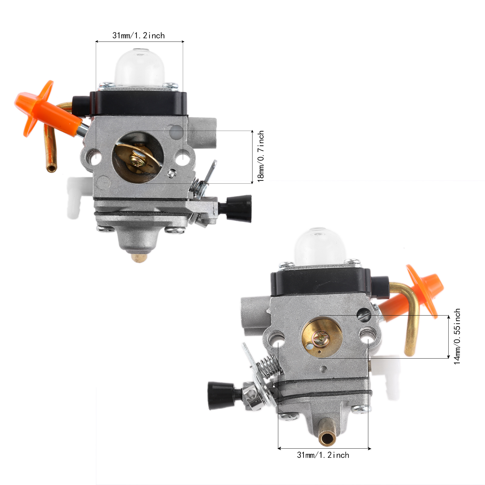 DRELD Carburetor Carb For Stihl FS87 FS90 FS100 KM100 FS110 KM110 FS130 KM130 HT130 Trimmer Engine Spare Part ZAMA C1Q-S173 S174
