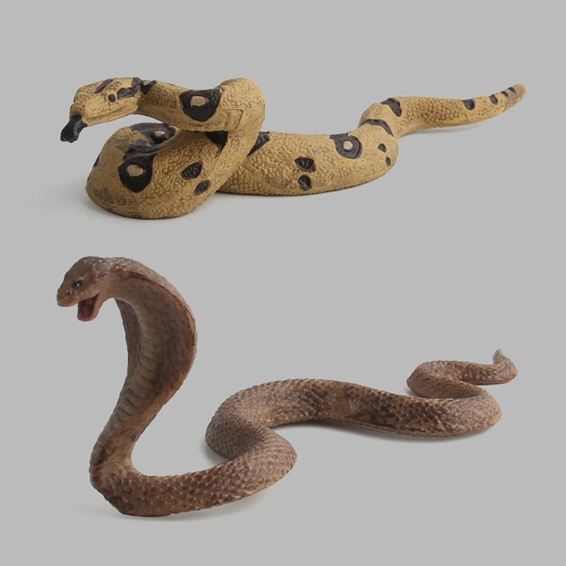 Toy Dolls Figurines Collectible Miniature Snake Eco-Friendly No Garden-Decoration-Ornaments