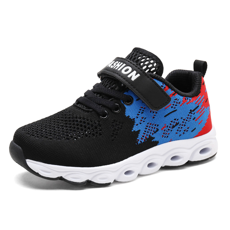 Brand Children Shoes Boys Spring 2018 Breathable Casual Black Sneaker Krasovki Sport Shoes for Girls Toddler Tenis Infantil