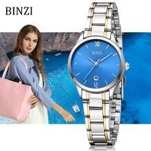 Relogio Feminino 2019 Watch Womens Clock Women Quartz Fashion/Simple stainless steel Watches female Silver Bracelet Wristwatch