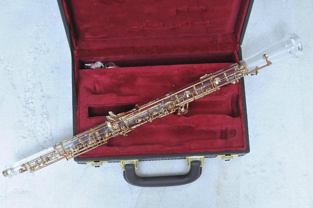 C Key Semi Auto Crystal Oboe Chinese Professional Oboe For