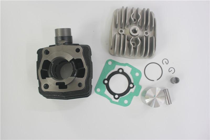 Kit de cylindre refroidi par Air de cylindre de moto 39.5mm 49cc pour le Kit de tête de joint de Piston de cylindre d'alésage de KTM 50 50CC
