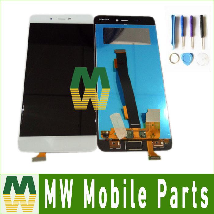 ФОТО 1pc/lot High Quality For Xiaomi 5s LCD Screen And Touch Screen Assembly with tools Black & White Color