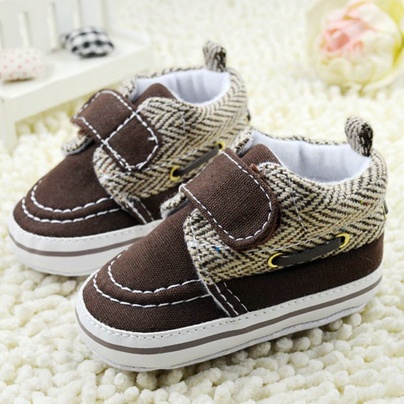 0-18M Toddler Baby Boy Girl Soft Sole Cotton Crib Shoes Casual Prewalker L07