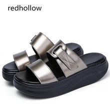 Summer Women Sandals Wedges Sandals Beach Slip On Sandals Slippers Ladies Comfortable Platform Sandals Open Toe Casual Shoes men fashionable slip on sandals with open toe