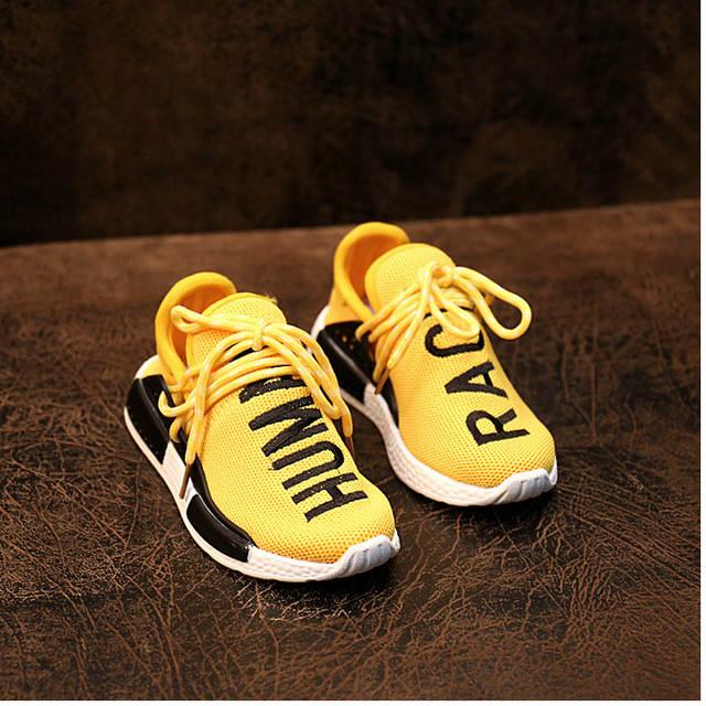uk availability 35b69 fbf68 Fashion Children NMD Human Race Casual Knit Shoes kids ...