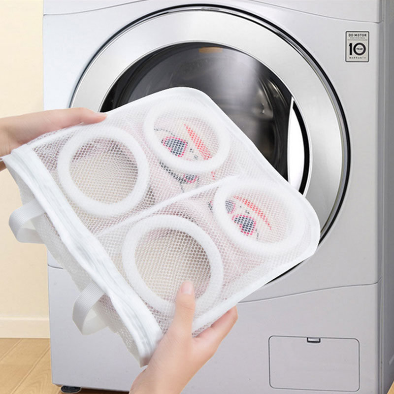Shoe Bag Lazy Shoes Wash Bag Washing Machine Special Hanging Drying Shoe Bag Storage Bag BF