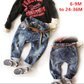 Nova primavera outono das crianças meninos de roupas jeans calças do bebê 6 meses-36 meses pant frete grátis