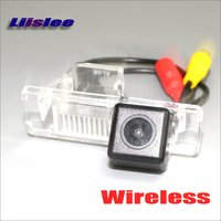 Liislee Wireless Reverse Camera For Nissan Kicks 2016 018 / Car Reversing Parking Back Camera / AUX RCA HD CCD Night Vision
