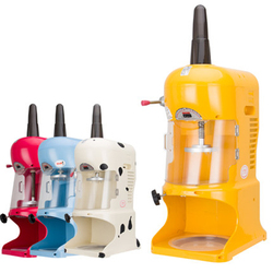 Ice Crusher Maker Commercial Ice Machine Slushy Maker Snow Generator Ice Maker Automatic Snow Shaving Machine EVC-P1