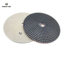 7 180mm wet/dry diamond Polishing Pad for concrete cement