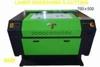 60W CO2 LASER ENGRAVER 700x500 LASER ENGRAVING MACHINE KH7050-60W USB PORT WOODWORKING/CRAFTS USB first