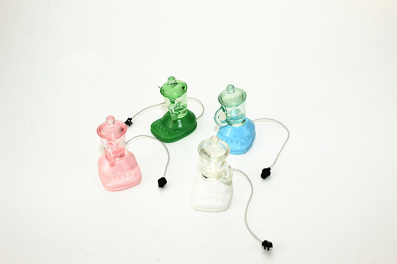 Wholesale 1:12 Dollhouse Miniature Accessories Mini Juicer Kitchen Furniture Toy For New Collectible Gift