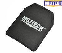 Militech nij iiia 3a 280ミリメートル* 350ミリメートル超軽量シューティングゲームカット防弾弾道パネル11 × 14インチスクールバッグインサー
