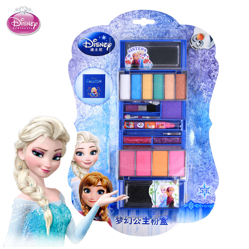 Genteel Childrens Disney Cosmetics Safety Non-toxic Snow And Ice Princess Cosmetic Box Set Girl Cosmetic Ball Performed Home Washitoys Factories And Mines Beauty & Fashion Toys Toys & Hobbies