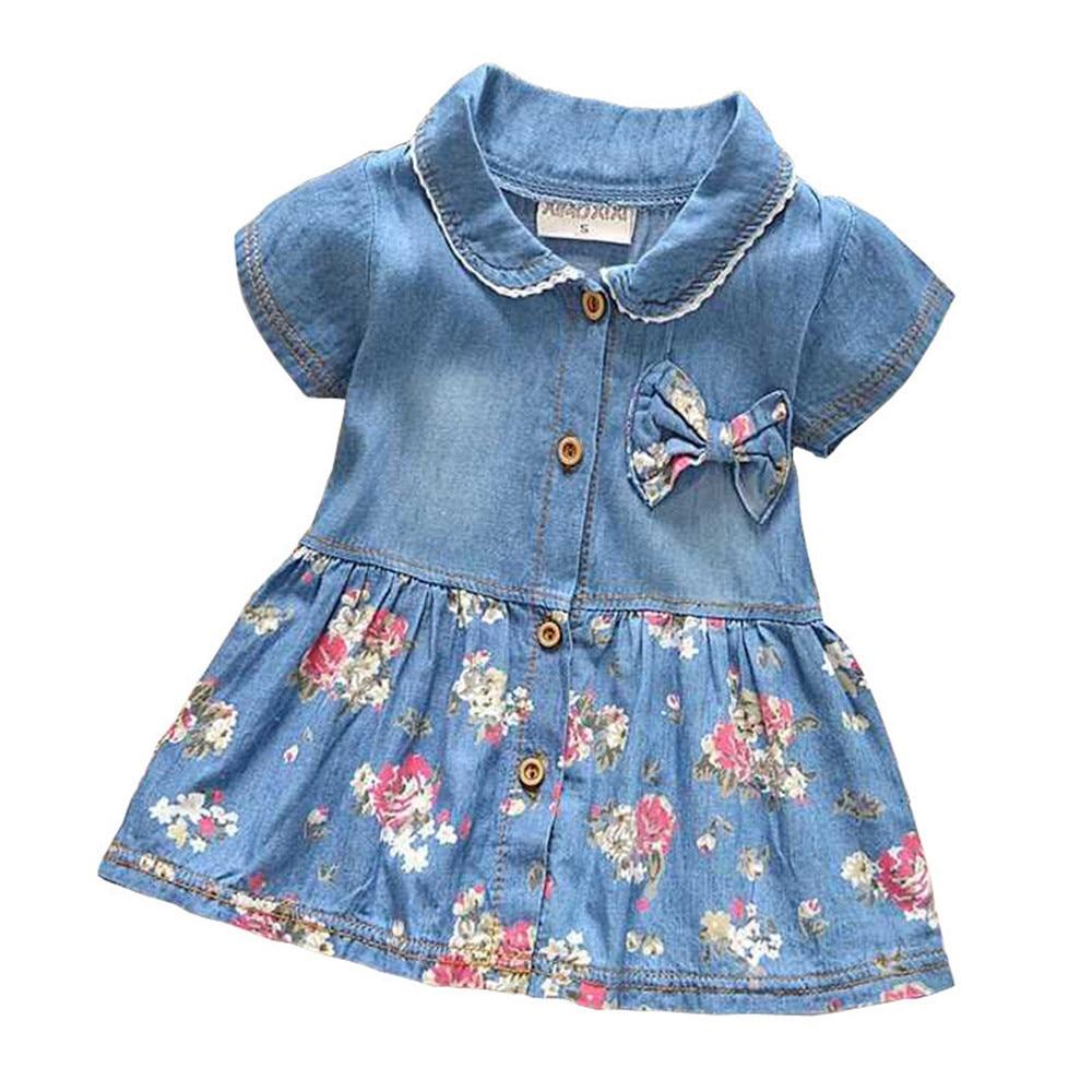 BibiCola Spring Summer Baby Girls Jackets Kids Coats Denim ...