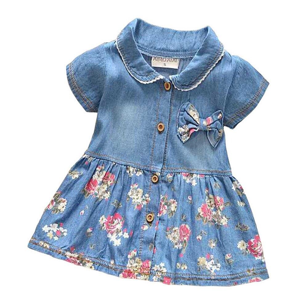 BibiCola Spring Summer Baby Girls Jackets Kids Coats Denim Children Coat Baby Clothing Kids clothes
