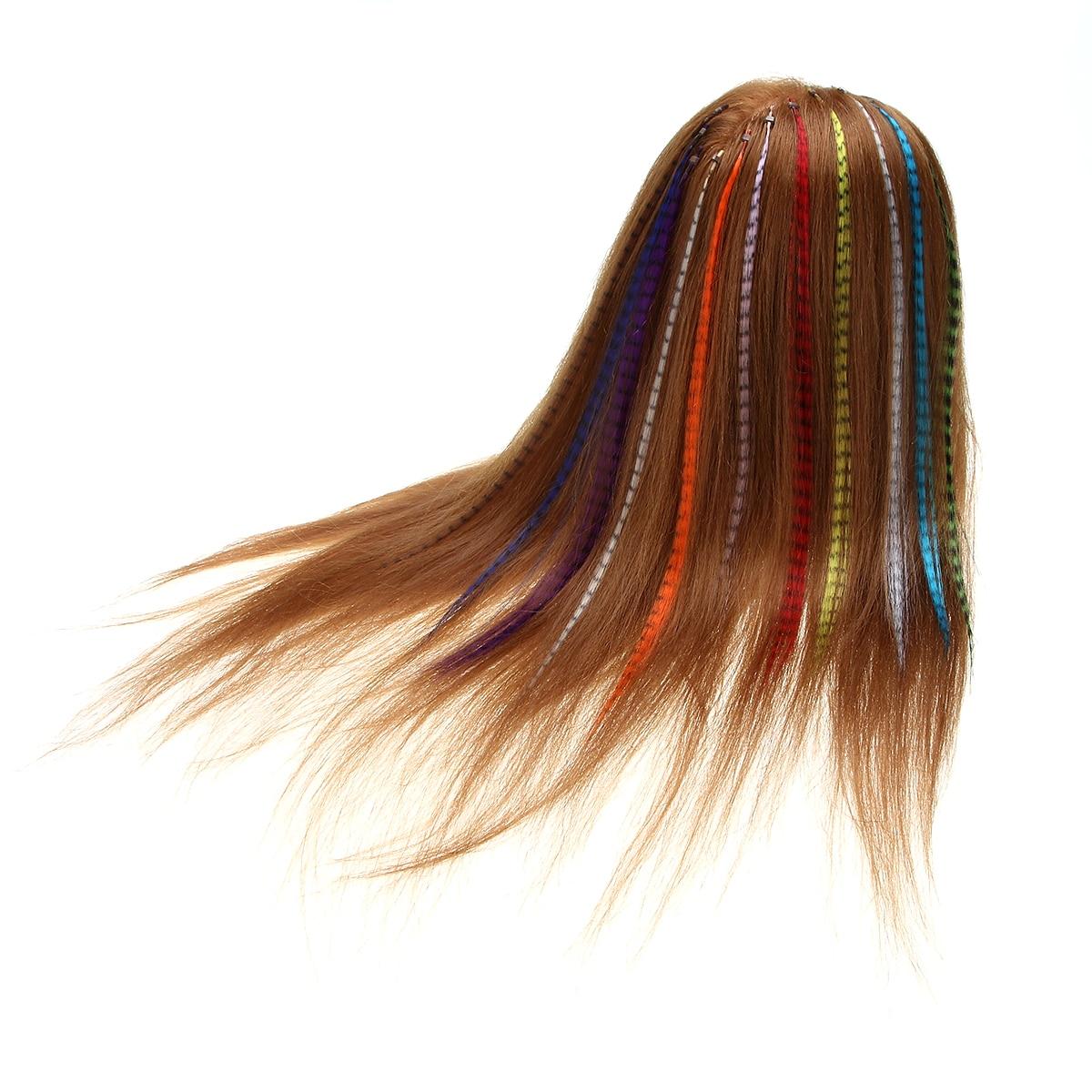 10pcs lot 11 colors wigs hair diy