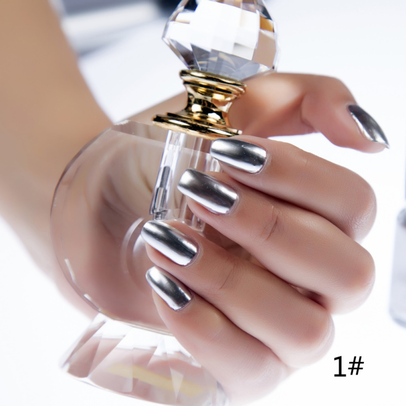 New Arrival 6 ml Metallic Nail Polish Mirror Oil Gel PolishGel Varnishes Metal Mirror Oil Party