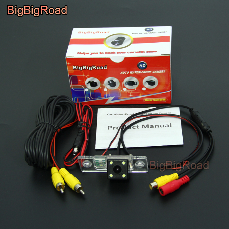BigBigRoad Car Rear View Reverse Backup Parking Camera For <font><b>Audi</b></font> <font><b>A8</b></font> A8L S8 <font><b>D3</b></font> <font><b>4E</b></font> A3 S3 8L A4 RS4 8D 1995 -2004 2005 2006 2007 image