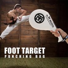 Тхэквондо мишень для ног двойной кик-пад для ног мишень для бокса Санда обучение таэквондо коврик для кик-пада боксерская сумка для взрослых детей