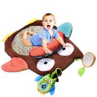 Одежда для малышей мягкая игровая ползать мат геймпад ковер коленей развивающие игрушки YH-17